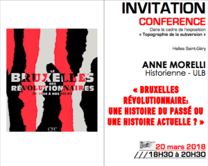 Conférence Anne Morelli